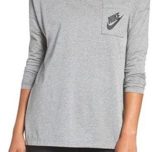 "Nike women's long sleeve Tee ""signal"""